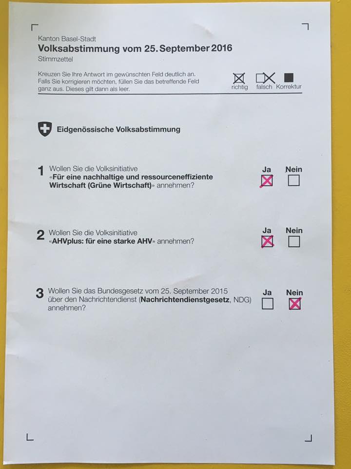 BastA!: BastA! beschliesst Parolen für den 25. September